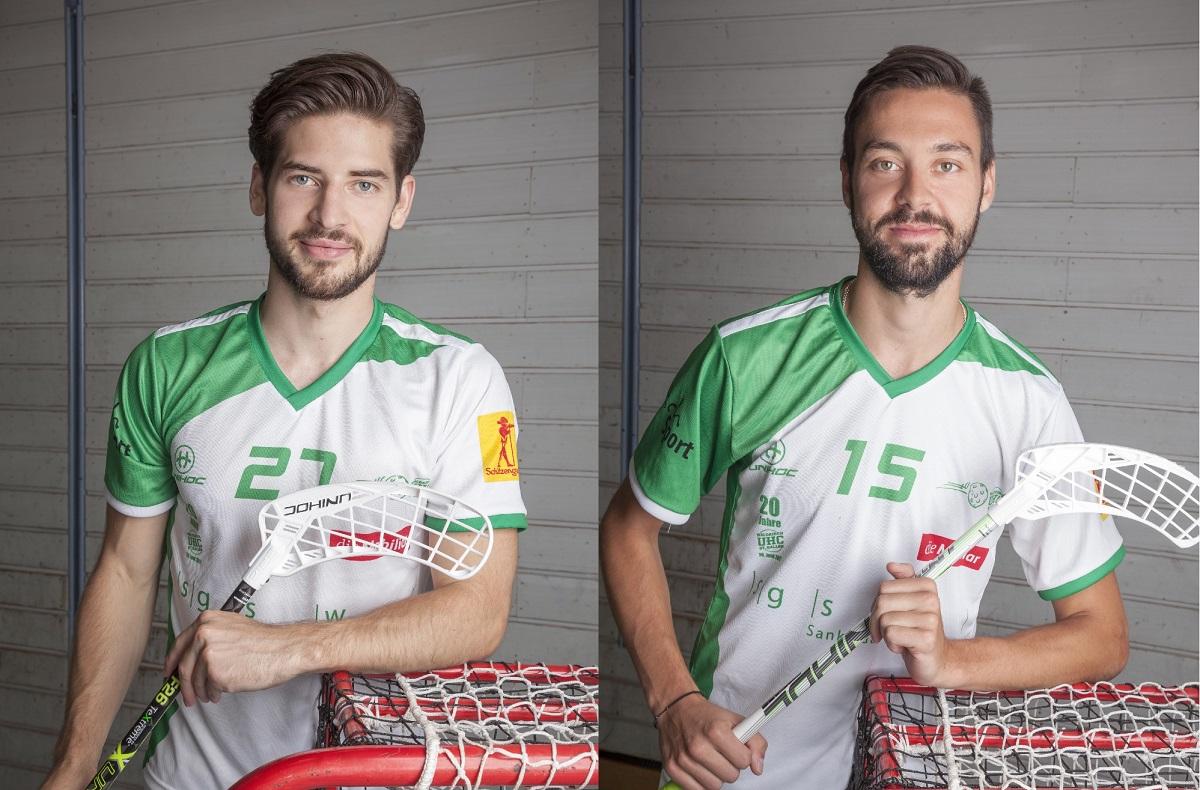 Roman Mittelholzer und Stefan Meier