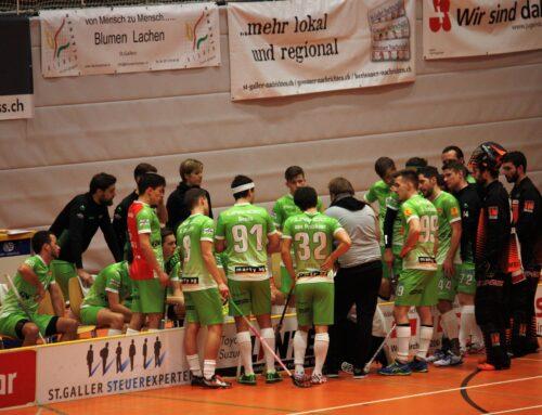 Schmerzhafte Niederlage gegen den HC Rychenberg Winterthur
