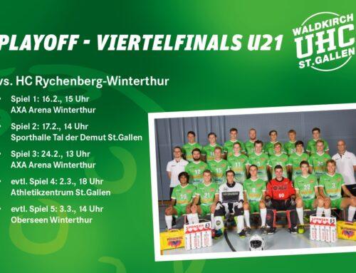 Playoff gegen den HC Rychenberg Winterthur