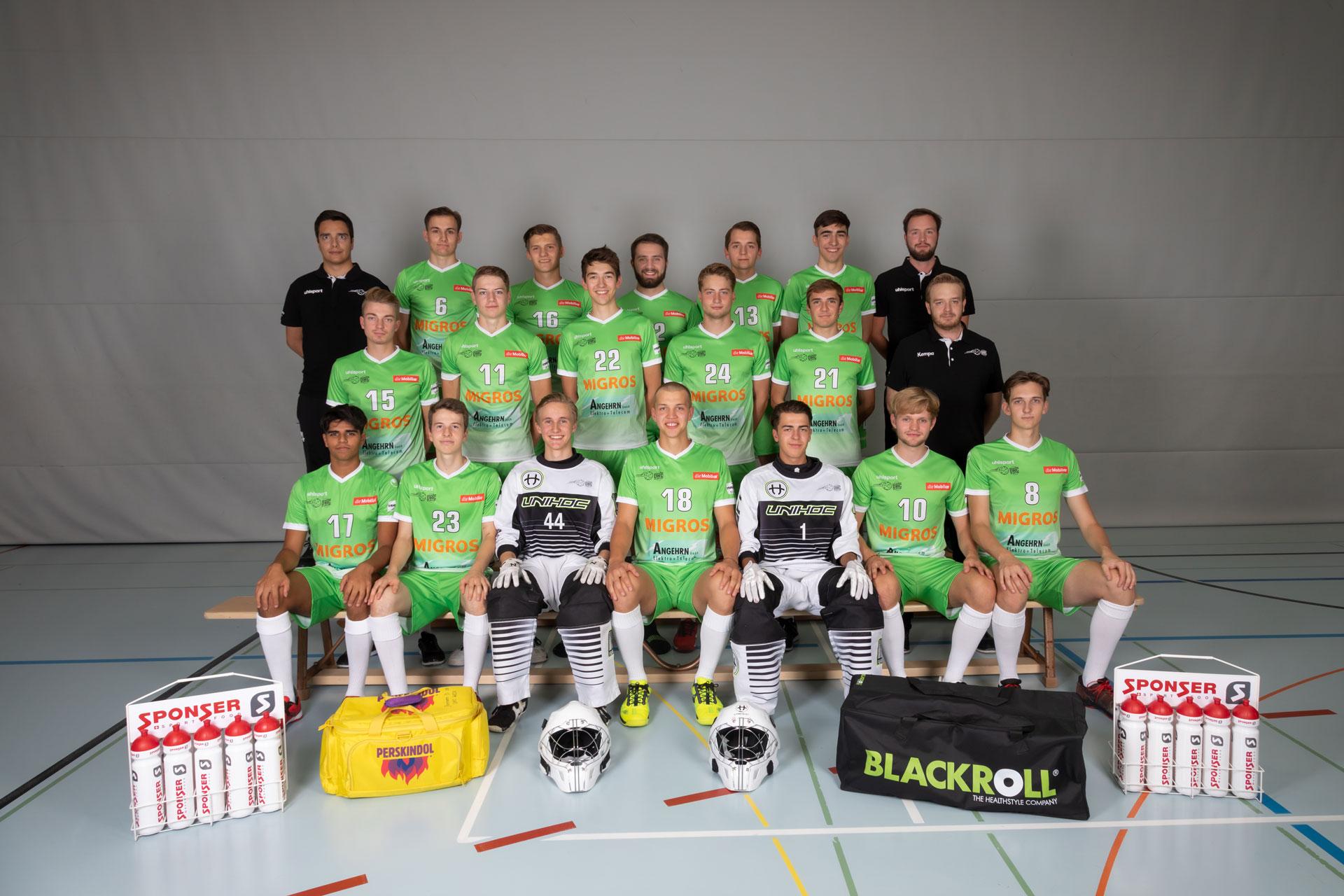 Teamfoto Männer U21 Heim