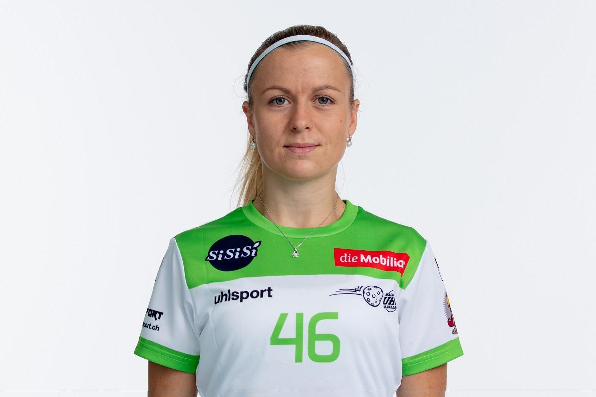 Unihockeyspielerin Pavlina Vacinova